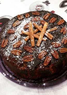 Κέικ με καφέ και μέλι