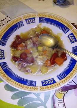 Σούπα λαχανικών εύκολη
