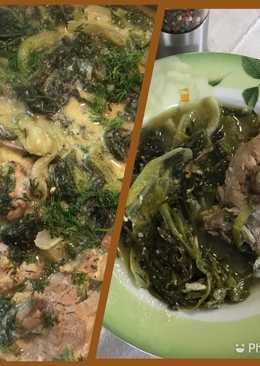 Φρικασέ κατσικάκι με μαρούλια & αντίδια με αυγολέμονο Αντώνης