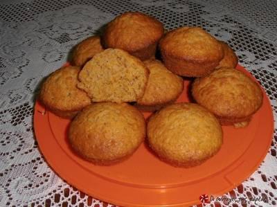 Muffins καρότου