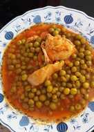Αρακάς με κοτόπουλο