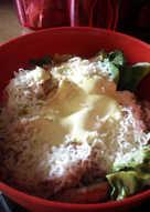 Σαλάτα Caesar's με κοτόπουλο και αυθεντική sauce