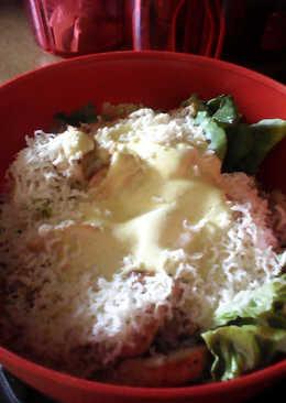 Σαλάτα Caesar's με κοτόπουλο