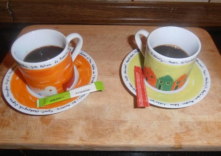 Καφές eSpresso για το πρωινό της Δήμητρας