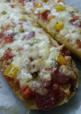 Γαλλική Baguette Pizza