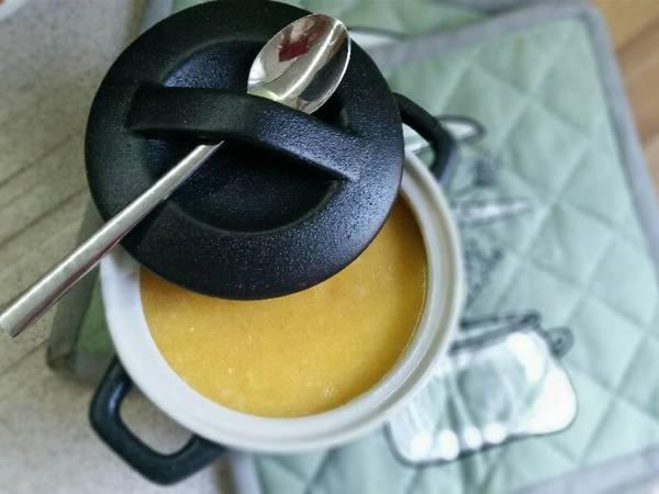 Κοτόσουπα βελουτέ αυγολέμονο