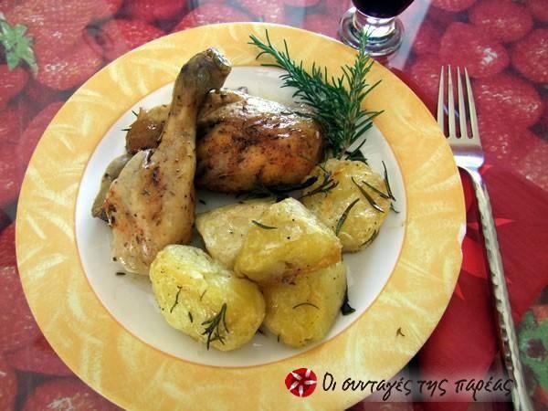 Ολόκληρο κοτόπουλο στο slow cooker