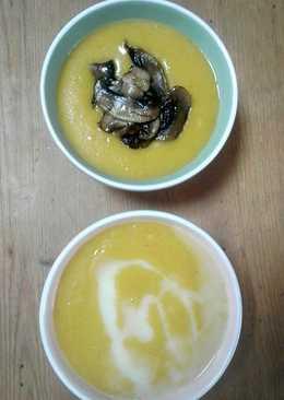Κολοκυθόσουπα βελουτέ με γάλα καρύδας & ginger