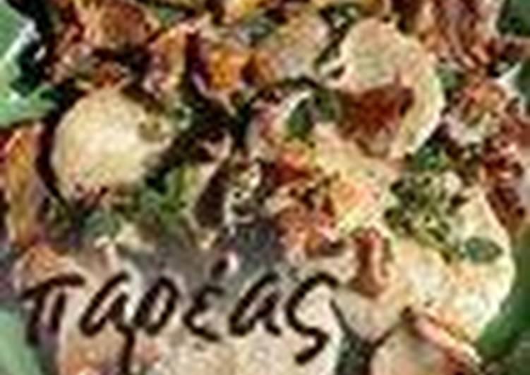Φιλετάκια με μανιτάρια ή Scaloppine ai funghi