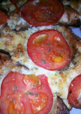 Χωριάτικη πίτσα - scrambled eggs