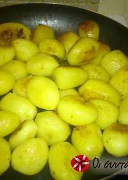 Πατάτες ολόκληρες αλλά τηγανητές!
