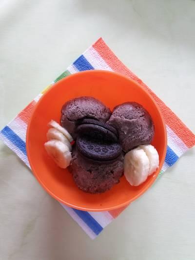 Παγωτό μπανάνα ή μπανάνα-Oreo σοκολάτας