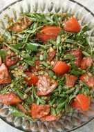 Σαλάτα με Γλιστρίδα και Φακές