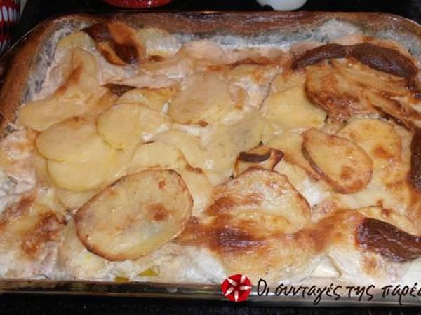 Gratin dauphinois. Πατάτες απίστευτης νοστιμιάς!!