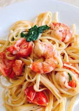 Shrimp in love ❤️ pasta