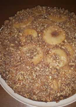 Ανάποδη μηλόπιτα θείας Λίτσας