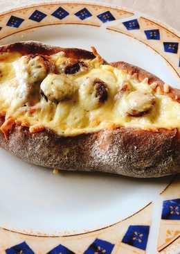 Πεϊνιρλί με τυρί και σουτζούκι