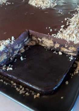 Τούρτα κορμός σοκολάτας