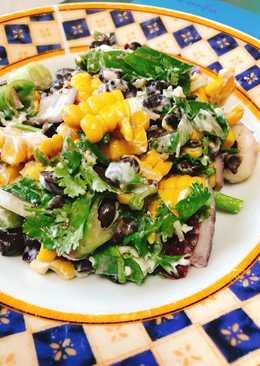 Πολύχρωμη Μεξικάνικη σαλάτα