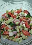 Γευστική χωριάτικη σαλάτα!!