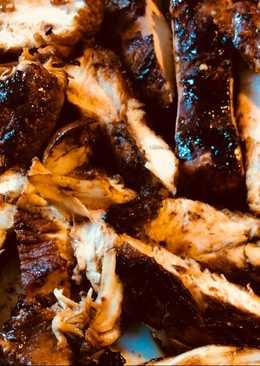 Μαριναρισμένο κοτόπουλο ψημένο στη σχάρα