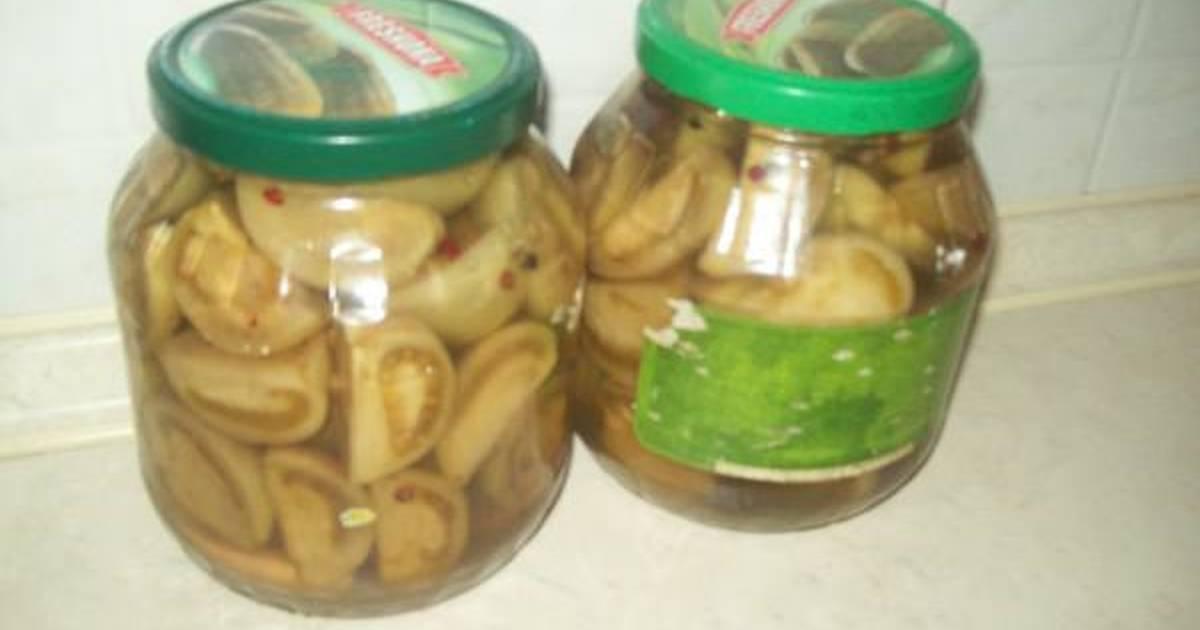 Ντομάτες πράσινες τουρσί συνταγή από LAKIS1969