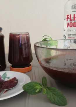 #Φράουλα γλυκό του κουταλιού, μαρμελάδα, σιρόπι και λικέρ μοχίτο