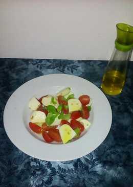 Ιταλική σαλάτα (Caprese)