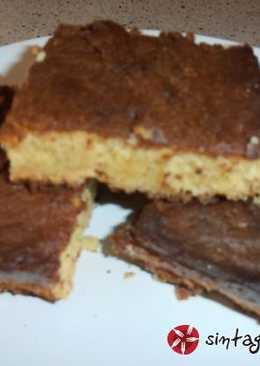 Brownies λευκής σοκολάτας