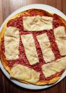 Πίτσα τορτίγια light