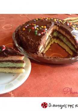 Πολύχρωμη τούρτα