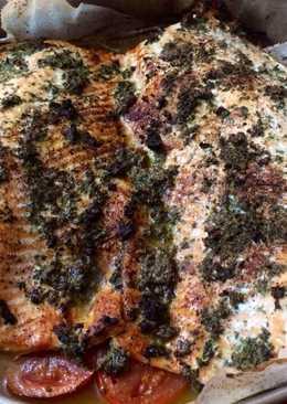Σολομός με αρωματικά στον φούρνο