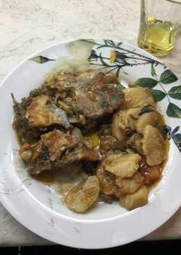 Μπακαλιάρος πλακί στο φούρνο Αντώνης