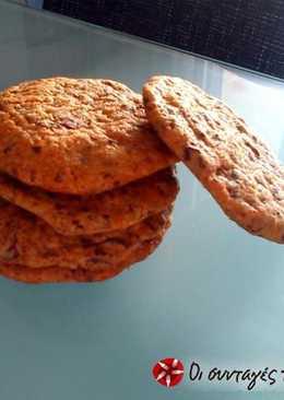 Τέλεια cookies με κομμάτια σοκολάτας