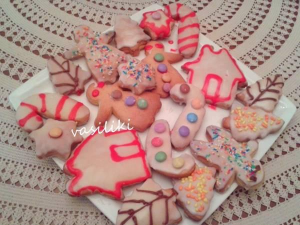 Μπισκοτάκια Χριστουγεννιάτικα 2