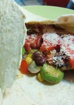 Χορτοφαγικές μεξικάνικες fajitas