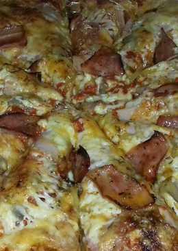 Πίτσα με 3 είδη αλευριών