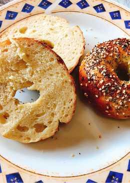 Σπιτικά αμερικάνικα μπέιγκελς (bagels)