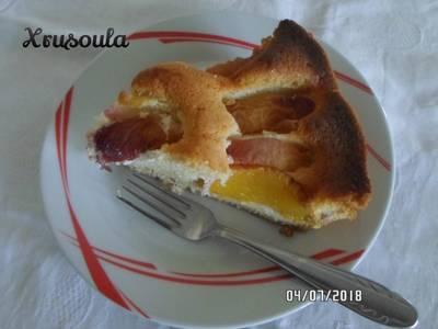 Ροδακινόπιτα κέικ