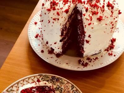 Απίθανη τούρτα red velvet