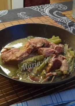 Gourmet χοιρινό με σέλινο
