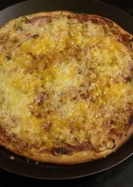 Ζύμη (τύπου) κουρού για πίτσα ή τυροπιτάκια