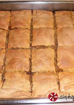 Παραδοσιακή κιμαδόπιτα με πράσο, από τη Θεσσαλία