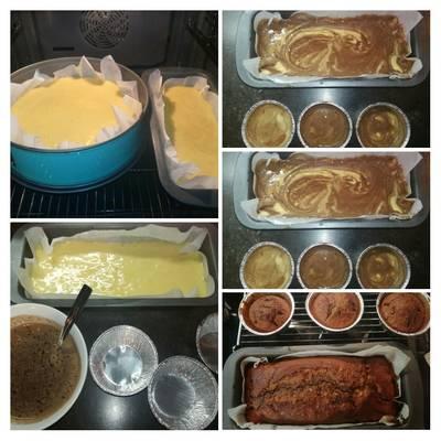 Κεκάκι σε τρείς γεύσεις σε ένα μπολ... !! #κέϊκ #πικνικ