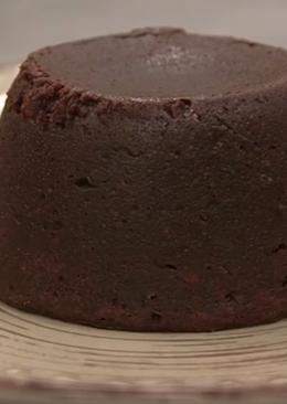 Σουφλέ σοκολάτας (Moelleux)