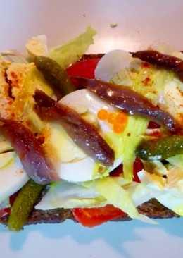 Σαλάτα με βάση ψωμί σικάλεως!