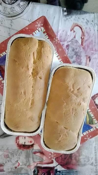 Ζυμωτό ψωμί με γάλα
