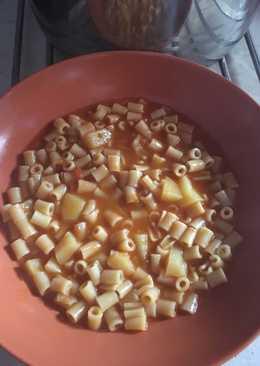 Σούπα με κοφτό μακαρονάκι