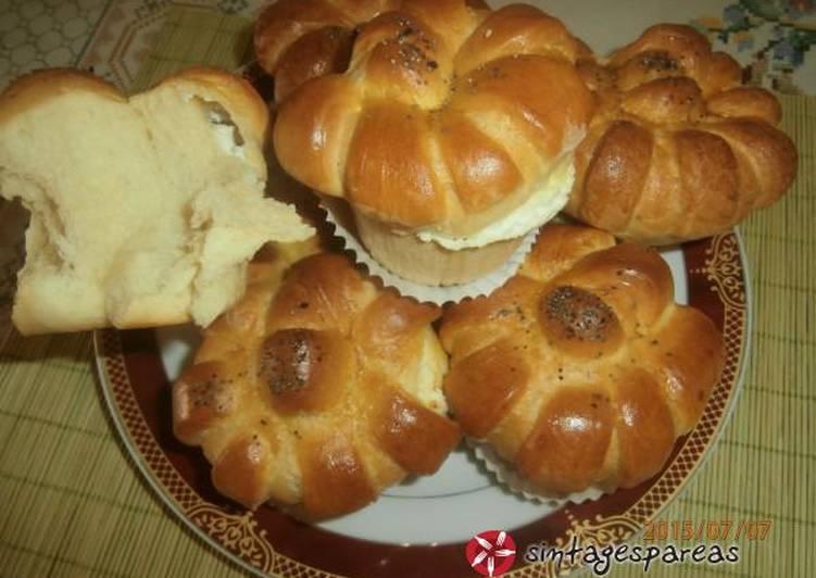 Muffins αλμυρά με τυρί