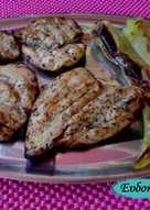 Κοτόπουλο στη σχάρα με σκόρδο και βαλσάμικο